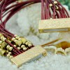 Ethnic Gold Beads Layered Bracelet For Women deal