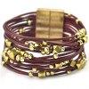 cheap Ethnic Gold Beads Layered Bracelet For Women