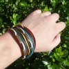 Faux Leather Rope Layered Bracelet deal