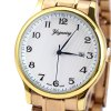 best Yagexing Water Resistance Fine Steel Band Male Quartz Watch with Date Function