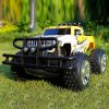 Buy YED 24886 - 2 40MHz RC Racing Car 4WD 1 / 10 Scale Amphibious Stunt Vehicle Model Toy YELLOW RED