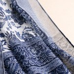 cheap Chic Tassels Embellished Ethnic Printed Multifunctional Pashmina For Women