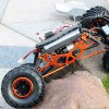 best HSP 94880 1 / 8 Scale 2.4GH RC Rock Crawler Off-road Truck Fast Car Model with Shock Absorber