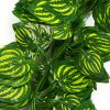 best Artificial 2m Watermelon Leaves Rattan - 12Pcs