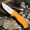 GANZO G722 - OR Small Line Locking Foldable Knife Stainless Steel Blade
