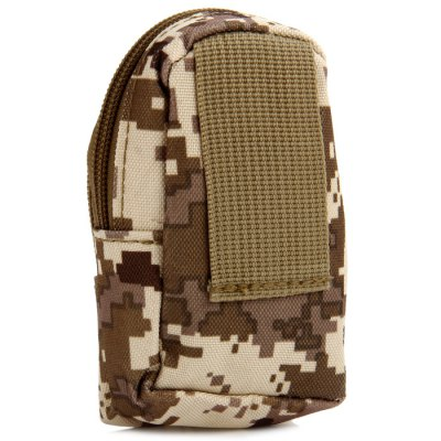 Water Resistant Unisex Mini Shoulder BagWaistpacks<br>Water Resistant Unisex Mini Shoulder Bag<br><br>Type: Shoulder Bag<br>For: Fishing, Cycling, Climbing, Adventure, Travel, Hiking, Other, Camping<br>Material: Nylon<br>Features : Water Resistance<br>Color: CP, Khaki, Three sand camouflage, Camouflage, Desert Digital Camouflage, Digital Camouflage, ACU Camouflage, Black<br>Product weight   : 0.028 kg<br>Package weight   : 0.054 kg<br>Product size (L x W x H)   : 7.0 x 15.0 x 11.0 cm / 2.75 x 5.90 x 4.32 inches<br>Package size (L x W x H)  : 8.5 x 16.5 x 12.5 cm / 3.34 x 6.48 x 4.91 inches<br>Package Contents: 1 x Mini Shoulder Bag