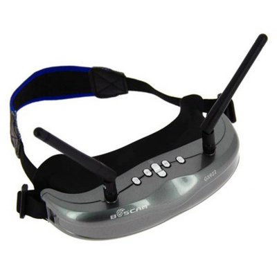 Гаджет   Boscam GS922 FPV 5.8G 32CH Div AIO Wireless 854 x 480 WVGA Video Glasses with DVR FPV System