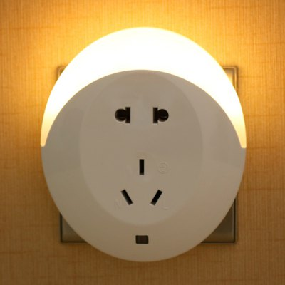Wall Plate with Night Light