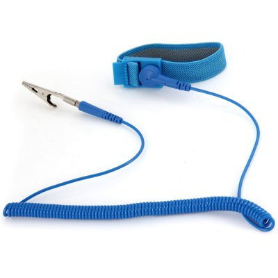 POSH Wired Anti-static Wrist BandCutting Tools<br>POSH Wired Anti-static Wrist Band<br><br>Material: ABS Plastic<br>Color: Blue<br>Type: Other hardware tools<br>Classification: Other hand tools<br>Classification: Household tools, Accessory tools<br>Special Features: Wired Wrist Band<br>Function: Anti-static<br>Product weight : 0.031 kg<br>Package weight : 0.084 kg<br>Package size (L x W x H) : 13.5 x 13.5 x 5 cm / 5.31 x 5.31 x 1.97 inches<br>Package Contents: 1 x POSH Wired Anti-static Wrist Band