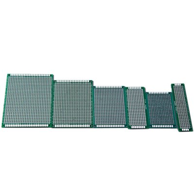 6PCS Double Sized Green Prototype Board