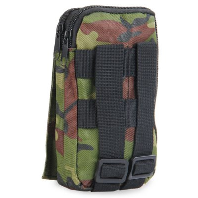 Tactical Accessory BagWaistpacks<br>Tactical Accessory Bag<br><br>Type: Belt Bag<br>For: Climbing, Fishing, Camping, Hiking, Other, Adventure, Travel, Cycling<br>Material: Nylon<br>Features : Water Resistance<br>Color: Three sand camouflage, Khaki, CP, Black, ACU Camouflage, Digital Camouflage, Desert Digital Camouflage, Camouflage<br>Product weight   : 0.086 kg<br>Package weight   : 0.122 kg<br>Product size (L x W x H)   : 10.0 x 4.0 x 18.0 cm / 3.93 x 1.57 x 7.07 inches<br>Package size (L x W x H)  : 11.5 x 5.5 x 19.5 cm / 4.52 x 2.16 x 7.66 inches<br>Package Contents: 1 x Outdoor Tactical Accessory Bag