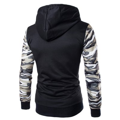 Classic Camo Spliced Rib Hem Color Block Slimming Hooded Long Sleeves Mens Fashion HoodieMens Hoodies &amp; Sweatshirts<br>Classic Camo Spliced Rib Hem Color Block Slimming Hooded Long Sleeves Mens Fashion Hoodie<br><br>Material: Polyester, Cotton<br>Fabric Type: Terry<br>Clothing Length: Regular<br>Sleeve Length: Full<br>Style: Fashion<br>Weight: 0.465KG<br>Package Contents: 1 x Hoodie