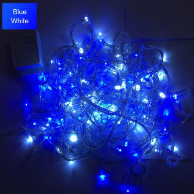 10m 100 LED String Light - 8 Modes Head to Tail Structure