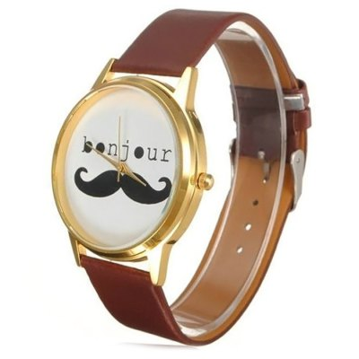 Bonjour Leather Band Women Quartz Watch - JijiaWomens Watches<br>Bonjour Leather Band Women Quartz Watch<br><br>Brand: Bonjour<br>Watches categories: Female table<br>Available color: Black, Brown<br>Style : Fashion&amp;Casual<br>Movement type: Quartz watch<br>Shape of the dial: Round<br>Display type: Analog<br>Case material: Stainless steel<br>Band material: Leather<br>Clasp type: Pin buckle<br>The dial thickness: 0.7 cm / 0.28 inches<br>The dial diameter: 3.6 cm / 1.41 inches<br>Product weight: 0.029 kg<br>Package weight: 0.079 kg<br>Product size (L x W x H) : 22 x 3.6 x 0.7 cm / 8.65 x 1.41 x 0.28 inches<br>Package size (L x W x H): 23 x 4.6 x 1.7 cm / 9.04 x 1.81 x 0.67 inches<br>Package contents: 1 x Bonjour Watch
