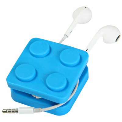 Block Earphone Cable Holder Wire Organizer
