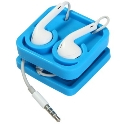 Block Earphone Cable Holder OrganizerHome Gadgets<br>Block Earphone Cable Holder Organizer<br><br>Type: Comfortable, Eco-friendly, Novelty, Decoration, Practical<br>For: All<br>Material: Rubber<br>Occasion: School, Home, Outdoor, Others<br>Features: Earphone organizer<br>Color: Blue, Red<br>Product weight   : 0.034 kg<br>Package weight   : 0.09 kg<br>Product size (L x W x H)   : 5 x 5 x 3 cm / 1.97 x 1.97 x 1.18 inches<br>Package size (L x W x H)  : 7 x 7 x 5 cm / 2.75 x 2.75 x 1.97 inches<br>Package contents: 1 x Block Earphone Holder