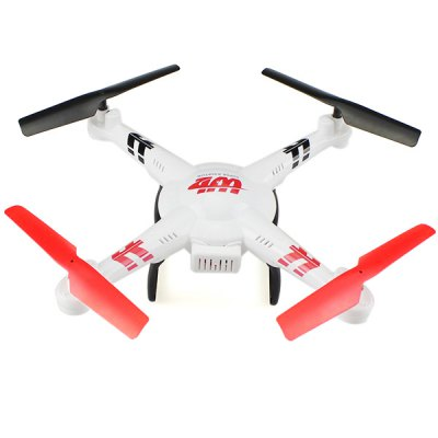 WLtoys V686G 4CH 5.8G FPV Real Time Transmission 2.4G RC Quadcopter with 2.0MP Camera Headless Mode Auto  -  Return Function - US Plug