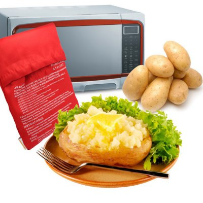 Microwave Oven Baked Potatoes Bag Useful Kitchen Supplies