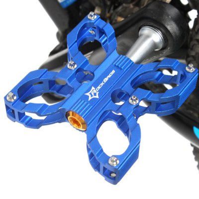 Гаджет   ROCKBROS Butterfly Shaped Bicycle Pedals Aluminum Alloy Bike Parts