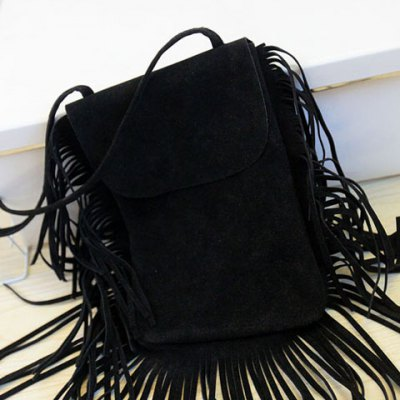 Retro Fringes and Suede Design Womens Crossbody BagWomens Bags<br>Retro Fringes and Suede Design Womens Crossbody Bag<br><br>Handbag Type: Shoulder bag<br>Style: Fashion<br>Gender: For Women<br>Pattern Type: Solid<br>Handbag Size: Small(20-30cm)<br>Closure Type: Cover<br>Occasion: Versatile<br>Main Material: Suede<br>Weight: 0.240KG<br>Size(CM)(L*W*H): 17*1*25<br>Strap Length: 120CM<br>Package Contents: 1 x Crossbody Bag
