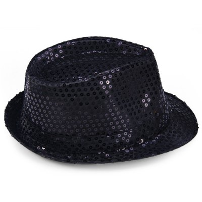 Christmas Paillette Jazz HatChristmas Supplies<br>Christmas Paillette Jazz Hat<br><br>Type: Hat<br>For: Parents, Brothers, Sisters, Others, Kids, Student, Friends, Teachers<br>Usage: Performance, Birthday, Valentine, Christmas, Gift, New Year, Others, Wedding, Stage, Party<br>Color: Gold, Silver, Ivory White, Black, Blue, Purple<br>Product weight: 0.065 kg<br>Package weight : 0.100 kg<br>Product size (L x W x H) : 28 x 24 x 12 cm / 11.00 x 9.43 x 4.72 inches<br>Package size (L x W x H): 30 x 26 x 14 cm / 11.79 x 10.22 x 5.50 inches<br>Package Contents: 1 x Hat