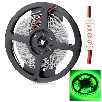 HML 5m SMD 5050 LED Light StripLED Strips<br>HML 5m SMD 5050 LED Light Strip<br><br>Brand: HML<br>Model: CM50<br>Type: LED Strip<br>Chip Brand: Chemy<br>Connector Type: Wired<br>Light Color: Blue, Red, Green<br>CCT/Wavelength: 465-475nm, 635-640nm, 515-525nm<br>Voltage (V): DC12<br>Output Power(W): 72w<br>Features: Cuttable, Low Power Consumption<br>Length (m): 5M<br>LED Type: SMD-5050<br>Number of LEDs: 300<br>Material: FPC<br>Certification: RoHS, CE, FCC<br>Product weight: 0.085 kg<br>Package weight: 0.120 kg<br>Product size (L x W x H): 13 x 13 x 1.2 cm / 5.11 x 5.11 x 0.47 inches<br>Package size (L x W x H): 15 x 15 x 2.2 cm / 5.90 x 5.90 x 0.86 inches<br>Package Contents: 1 x HML SMD 5050 LED Strip Light, 1 x 3 Keys Controller
