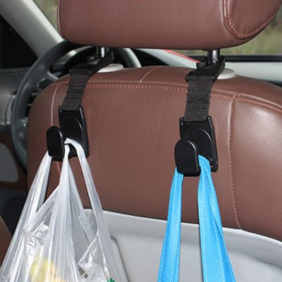 2 Pcs SHUNWEI SD-2504 Car Headrest Hook