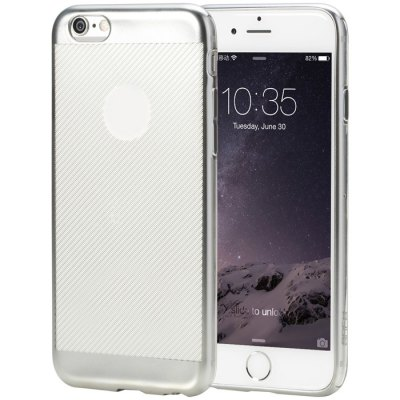 Rock Electroplated TPU Back Cover for iPhone 6 iPhone 6S