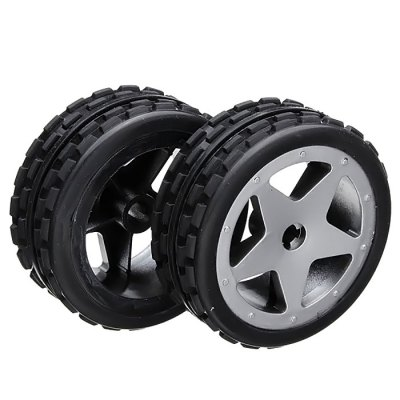 2Pcs Spare Part Front Wheel Fitting for Wltoys L959 RC Racing Car
