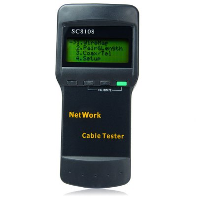 SC8108 Network Cable Tester