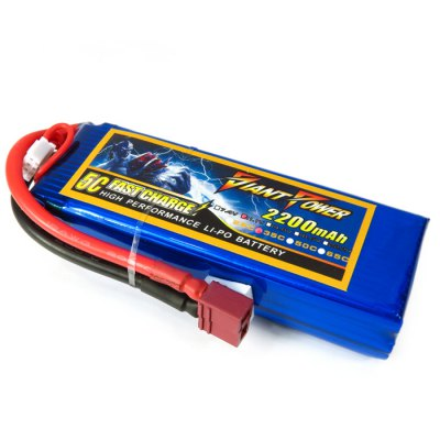 Giant Power Battery 2200mAh 11.1V 35C Fitting for T - REX 450 RC Helicopter