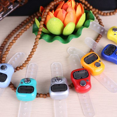 Digital Ring Tally Counter Electronic Finger Clicker