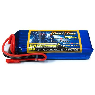 Giant Power Battery 1000mAh 11.1V / 3S 35C Fitting for Blade 200 SR X RC Helicopter