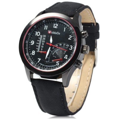 Womage Men Quartz Watch
