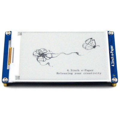 Waveshare 4.3 inch E-Paper Display Module