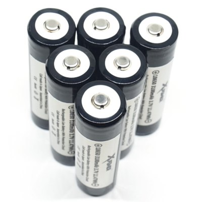 Гаджет   Xpower 3.7V 3100mAh Protected Rechargeable 18650 Li-ion Battery Batteries