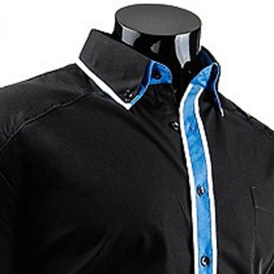 Fashion Slimming Shirt Collar Color Block Stripe Placket Long Sleeve Polyester Button-Down Shirt For MenMens Shirts<br>Fashion Slimming Shirt Collar Color Block Stripe Placket Long Sleeve Polyester Button-Down Shirt For Men<br><br>Shirts Type: Casual Shirts<br>Material: Polyester<br>Sleeve Length: Full<br>Collar: Turn-down Collar<br>Weight: 0.240KG<br>Package Contents: 1 x Shirt