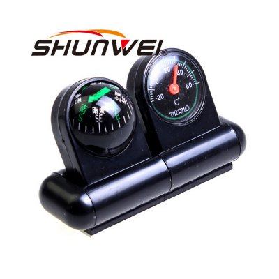 Фотография SHUNWEI SD-1701 Car Compass Thermometer