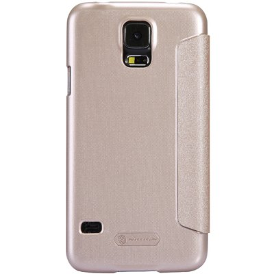 ФОТО Nillkin View Window Design Phone Protective Cover Case with PU Leather and PC Material for Samsung Galaxy S5 G900