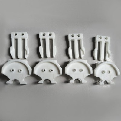 ФОТО 3D Print Version Releasing Buckle for DJI Phantom 2 / Phantom 3 RC Quadcopter - 4Pcs