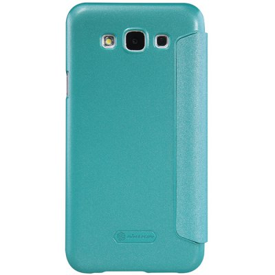 ФОТО Nillkin View Window Design Phone Protective Cover Case with PU Leather and PC Material for Samsung Galaxy E5 E500