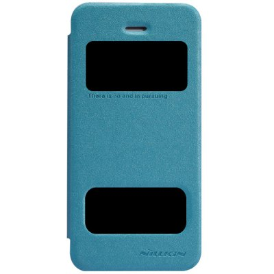 ФОТО Nillkin View Window Design Phone Protective Cover Case with PU Leather and PC Material for iPhone 5 5S