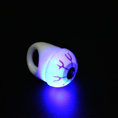 Flashing Eyeball Design Soft Ring