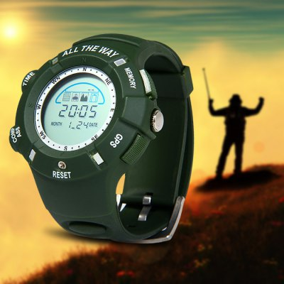 ALL THE WAY GPS Wrist Watch-44.24 Online Shopping ...