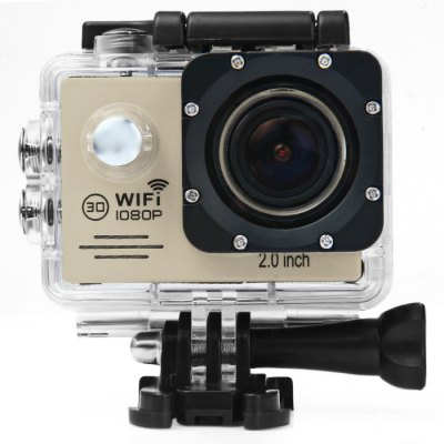 SJ7000 1080P 2.0 Inch Screen WiFi Waterproof 170 Degree Lens Sport Video Camcorder with AR0330 Sensor Novatek 96655 Chipset Support Motion DetectionAction Cameras<br>SJ7000 1080P 2.0 Inch Screen WiFi Waterproof 170 Degree Lens Sport Video Camcorder with AR0330 Sensor Novatek 96655 Chipset Support Motion Detection<br><br>Model: SJ7000<br>Type: Sports Camera<br>Chipset Name: Novatek<br>Chipset: Novatek 96655<br>System requirements: Mac OS x 10.3.6 above,Win 7,Windows 2000 / XP / Vista<br>Max External Card Supported: TF 32G (not included)<br>Class Rating Requirements: Class 10 or Above<br>Screen size: 2.0inch<br>Screen type: LCD<br>Screen resolution: 960 x 240<br>Battery Type: Removable<br>Charge way: AC adapter,USB charge by PC<br>Working Time: About 90 minutes 1080P 30fps<br>Decode Format: H.264<br>Video format: MOV<br>Video Resolution: 1080P (1920 x 1080),720P (1280 x 720)<br>Video System: NTSC,PAL<br>Video Output : HDMI<br>Image Format : JPG<br>Audio System : Built-in microphone/speacker (AAC)<br>Exposure Compensation: +1,+1/3,+2,+4/3,+5/3,-1,-1/3,-2,-2/3,-4/3,-5/3,0,2/3<br>White Balance Mode  : Auto,Cloudy,Daylight,Fluorescent,Tungsten<br>WIFI: Yes<br>Waterproof: Yes<br>Water Resistant: 30m<br>Loop-cycle Recording : Yes<br>Motion Detection: Yes<br>HDMI Output: Yes<br>Interface Type: HDMI,Micro USB<br>Language: English,French,Italian,Polski,Russian,Simplified Chinese,Spanish<br>Product weight: 0.156 kg<br>Package weight: 0.587 kg<br>Product size (L x W x H): 8.00 x 8.00 x 4.00 cm / 3.15 x 3.15 x 1.57 inches<br>Package size (L x W x H): 28.00 x 18.00 x 7.00 cm / 11.02 x 7.09 x 2.76 inches<br>Package Contents: 1 x Sports Camera, 1 x USB Cable, 2 x 3M Double-sided Adhesive, 1 x EU Charger Adapter, 1 x Steel Wire Rope, 4 x Ribbon, 4 x Bandage, 1 x Waterproof Back Cover, 10 x Install Accessories, 1 x English-C