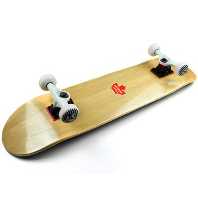 EC - LB02 Double Warped Skateboard with Canadian Maple Deck