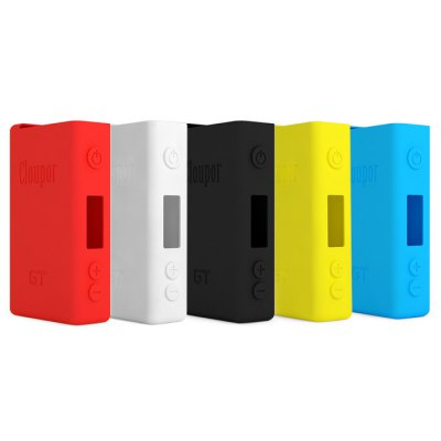 Silicone Protective Case for Cloupor GT 80W Box Mod - ClouporAccessories<br>Silicone Protective Case for Cloupor GT 80W Box Mod<br><br>Type: Electronic Cigarettes Accessories<br>Accessories type: Protective Sleeve<br>Compatible with: Cloupor GT 80W Box Mod<br>Material: Silica Gel<br>Available Color: Blue, Yellow, Black, White, Red<br>Product weight  : 0.012 kg<br>Package weight   : 0.06 kg<br>Product size (L x W x H)  : 9.8 x 5.6 x 2.4 cm / 3.85 x 2.20 x 0.94 inches<br>Package size (L x W x H)  : 11.9 x 7.7 x 4.5 cm / 4.68 x 3.03 x 1.77 inches<br>Package Contents: 1 x Silicone Protective Case