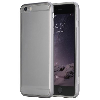 Rock Metal Bumper Back Case for iPhone 6 Plus