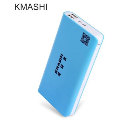 KMASHI MP810 20000mAh Mobile Power Bank External Charger with Dual USB Output