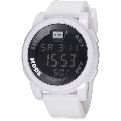 Shhors Men LED Sports Watch